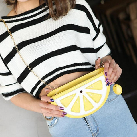 Mini Lemon Handbag Model