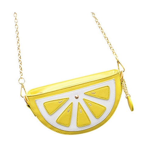 Mini Lemon Purse / Shoulder Bag
