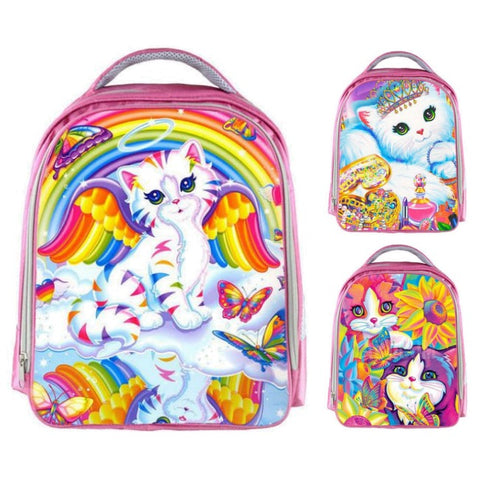 Kids Lisa Frank Kitty Cat Backpack
