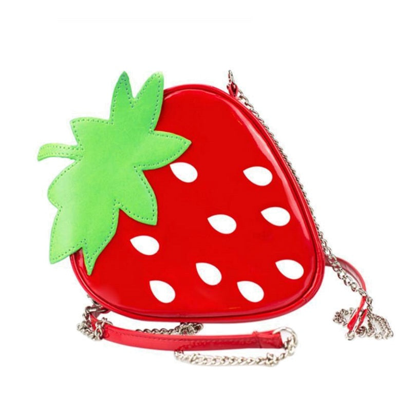 Mini Strawberry Purse / Shoulder Bag