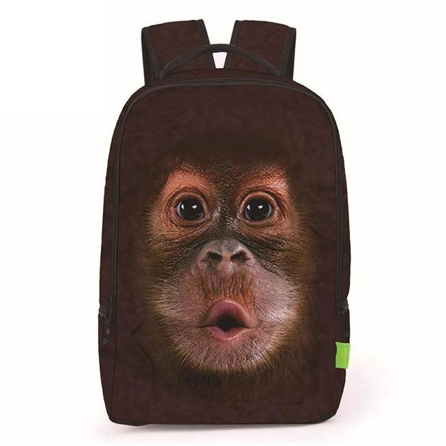 Baby Orangutan Monkey Face Backpack