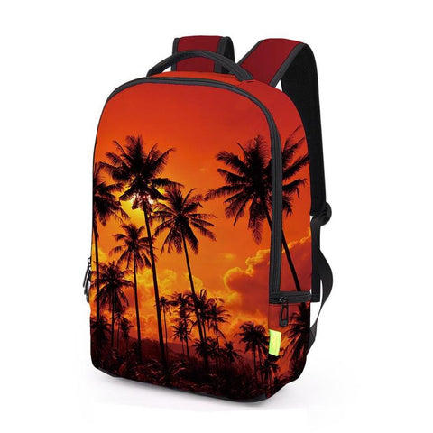 Side of Orange Beach Backpack