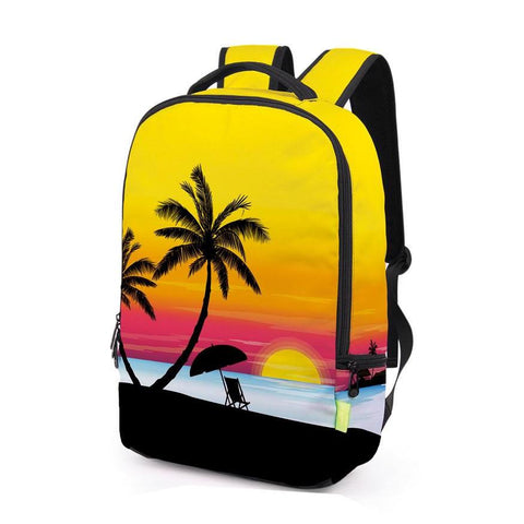 Side of Yellow Beach Backpack
