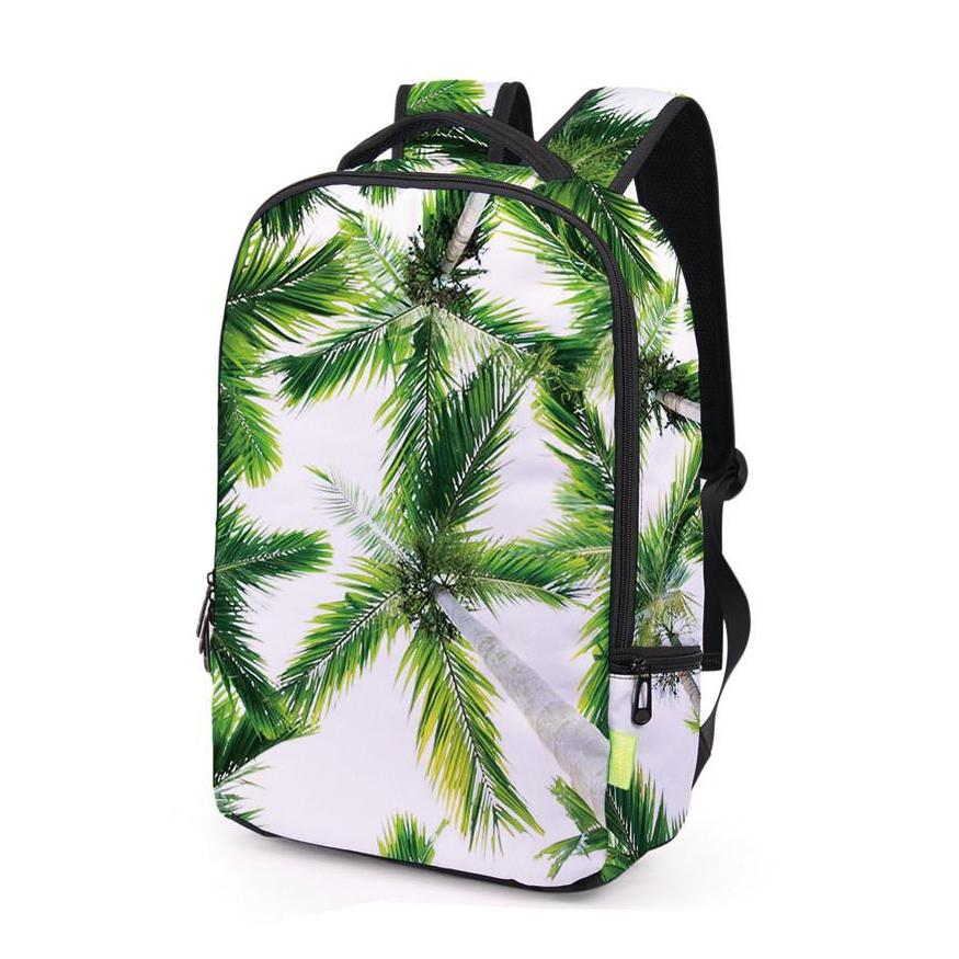 Side of Green Beach Backpack