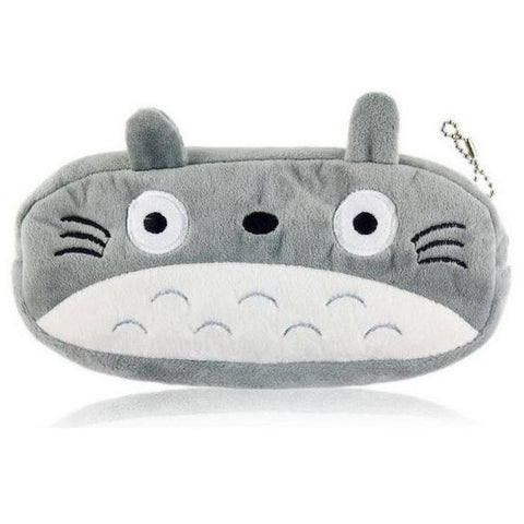 Plush Totoro Anime Pencil Bag Case