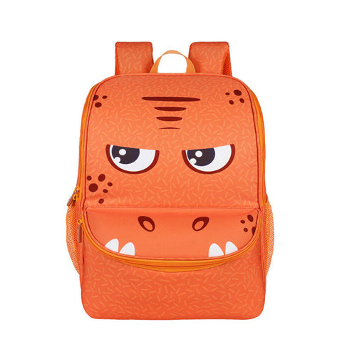 "Kids 3D Cartoon Animal Face Backpack (16"") Dinosaur"