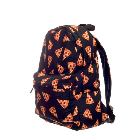 Pizza Print School Bag