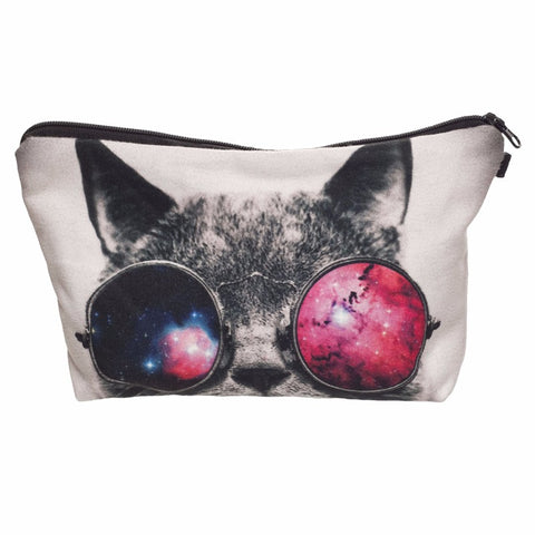 Cool Cat Pencil Cosmetic Case