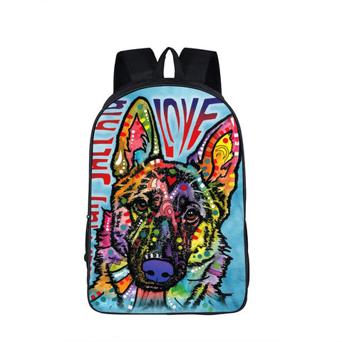 German Shepard Backpack