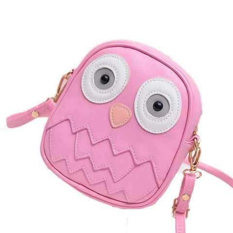 Pink Mini Owl Mini Purse