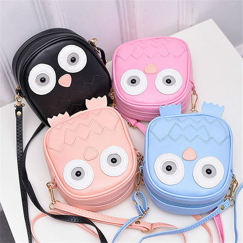Owl Mini Purse / Messenger Bag