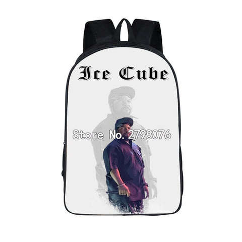 "Hip-Hop Rap Legends Backpack (17"") Ice Cube 1"