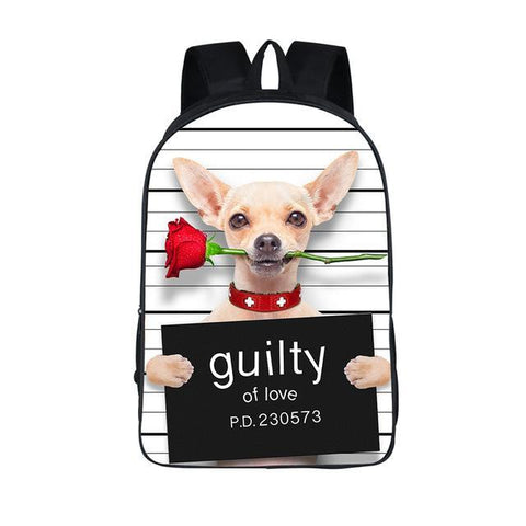 Guilty Chiuawa Backpack