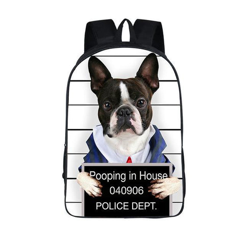 Bad Doggy Backpack