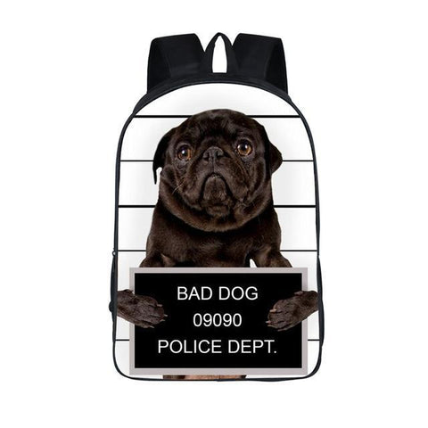 Bad Pug Backpack
