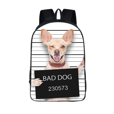 Chiuawa Dog Backpack