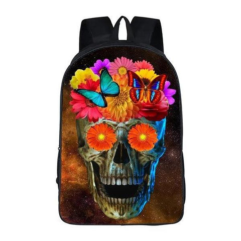 Funny Skull Book Bag Style 5