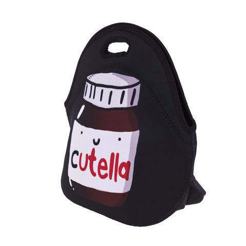 Side of Cartoon Nutella Lunch Bag