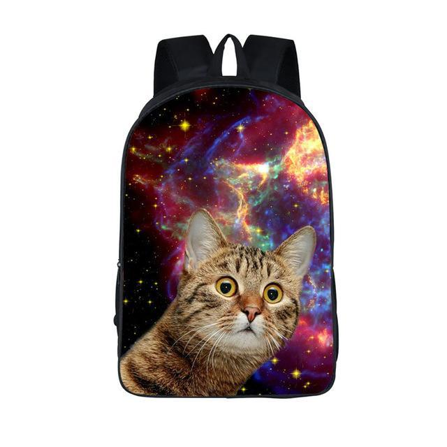 Space Kitty Laser Cat Backpack 17 Quot Funn Bagz