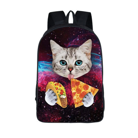 Pizza Cat Backpack