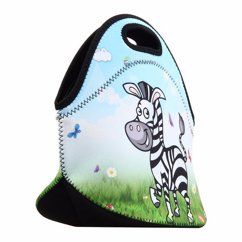 Cartoon Zebra Lunch Bag