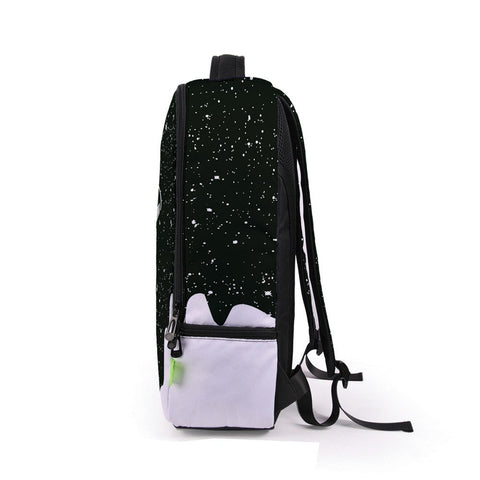 Side of White Paint Backpack