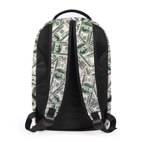 Back of Money Backpack