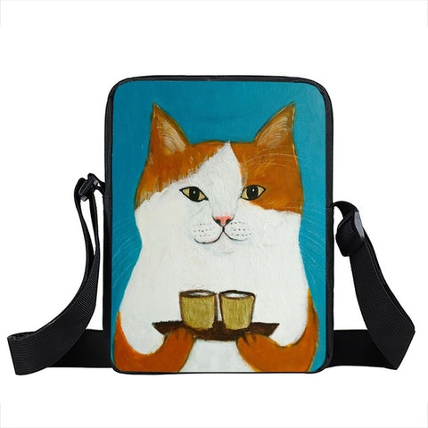 Cat Messenger Bag Style 10