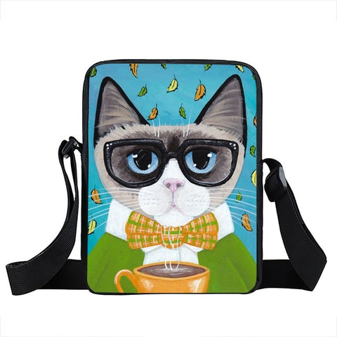 Cat Shoulder Bag Style 7