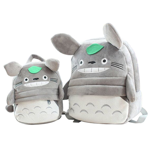 Kids Plush Totoro Anime Backpack