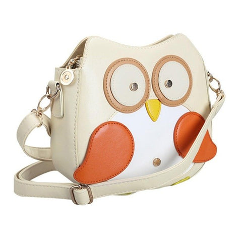 Cartoon Owl Mini Purse / Shoulder Bag