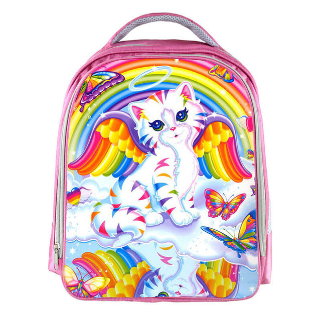 Lisa Frank Angel Kitty Backpack