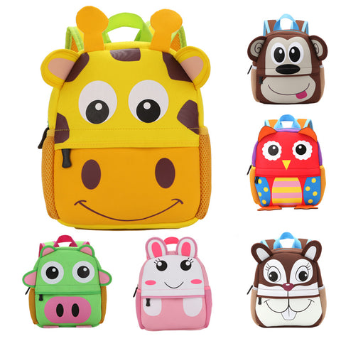 Kids Neoprene Animal Backpack