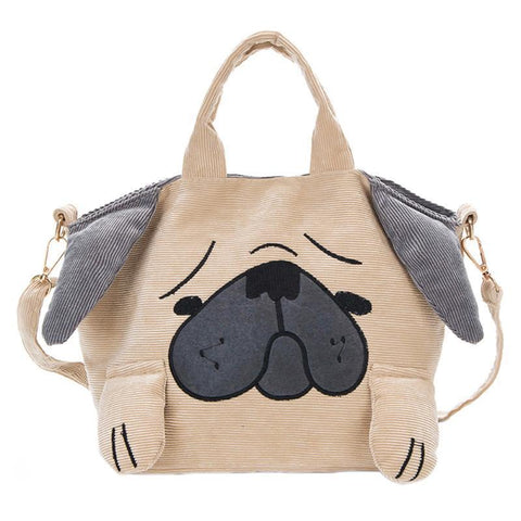Casual Puppy Dog Shoulder Bag