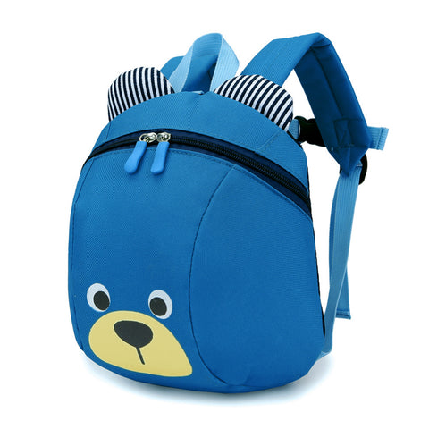 Blue Anti-Lost Bear Backpack