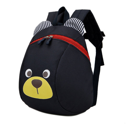 Black Anti-Lost Bear Backpack
