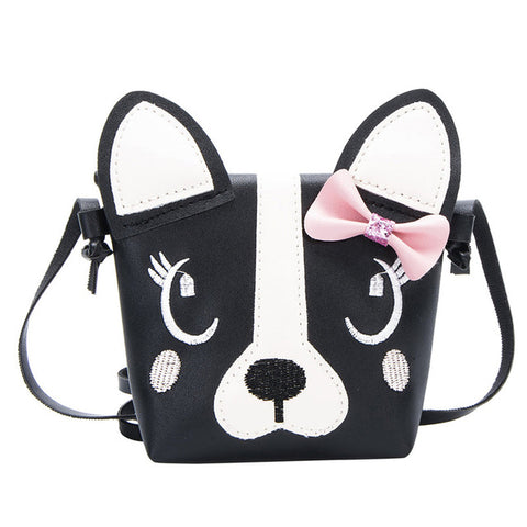 Cute Puppy Dog Face Mini Purse / Shoulder Bag