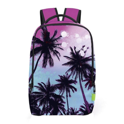 Purple Beach Backpack