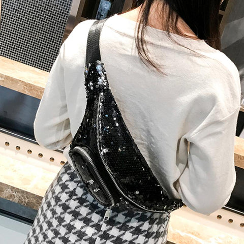 Sequin Chest Bag