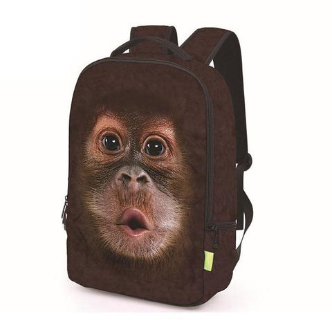 Baby Orangutan Monkey Backpack