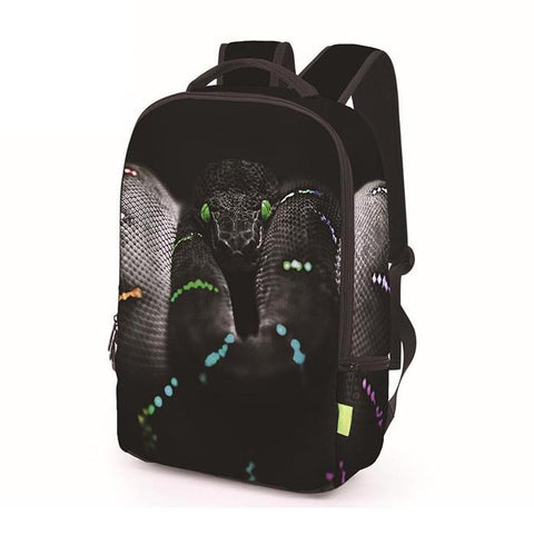 Black Viper / Snake Backpack
