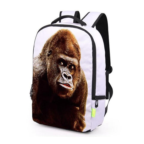 White Gorilla Backpack