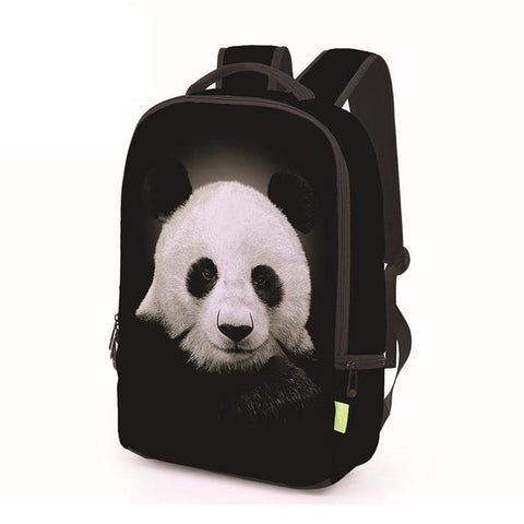 Canvas Giant Panda Backpack