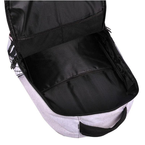 Inside Panda Backpack