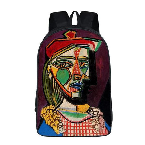 Picasso Woman In Beret Backpack