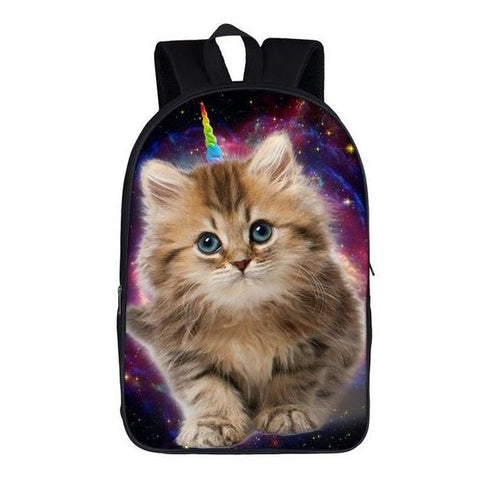 Unicorn Kitty Backpack Style 2