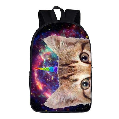 Unicorn Cat Backpack Style 3