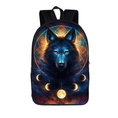 Mystical Wolf Backpack