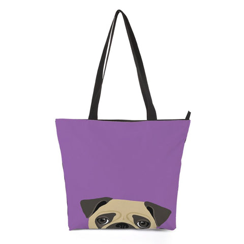 Puppy Dog Shopping Bag Style 3