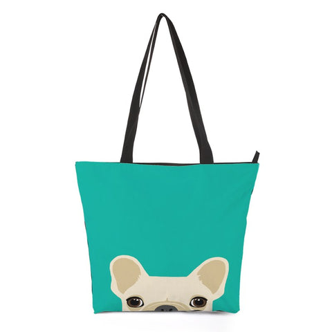 Puppy Dog Tote Bag Style 4